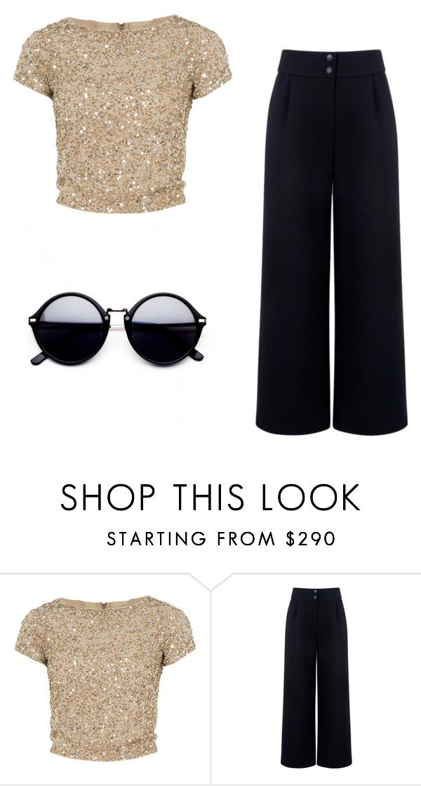 """""""Simple shimmer"""" by watermelon-lane on Polyvore featuring Alice + Olivia and Être Cécile"""