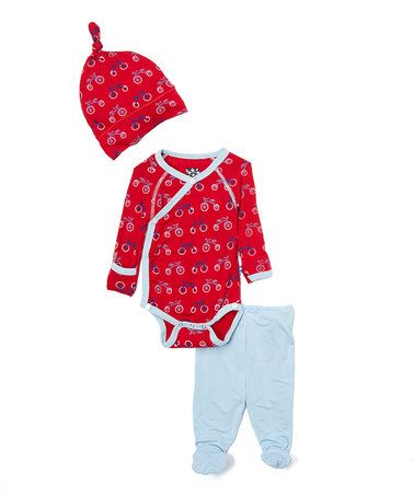 This Balloon Tricycle Bodysuit Set - Infant by KicKee Pants is perfect! #zulilyfinds