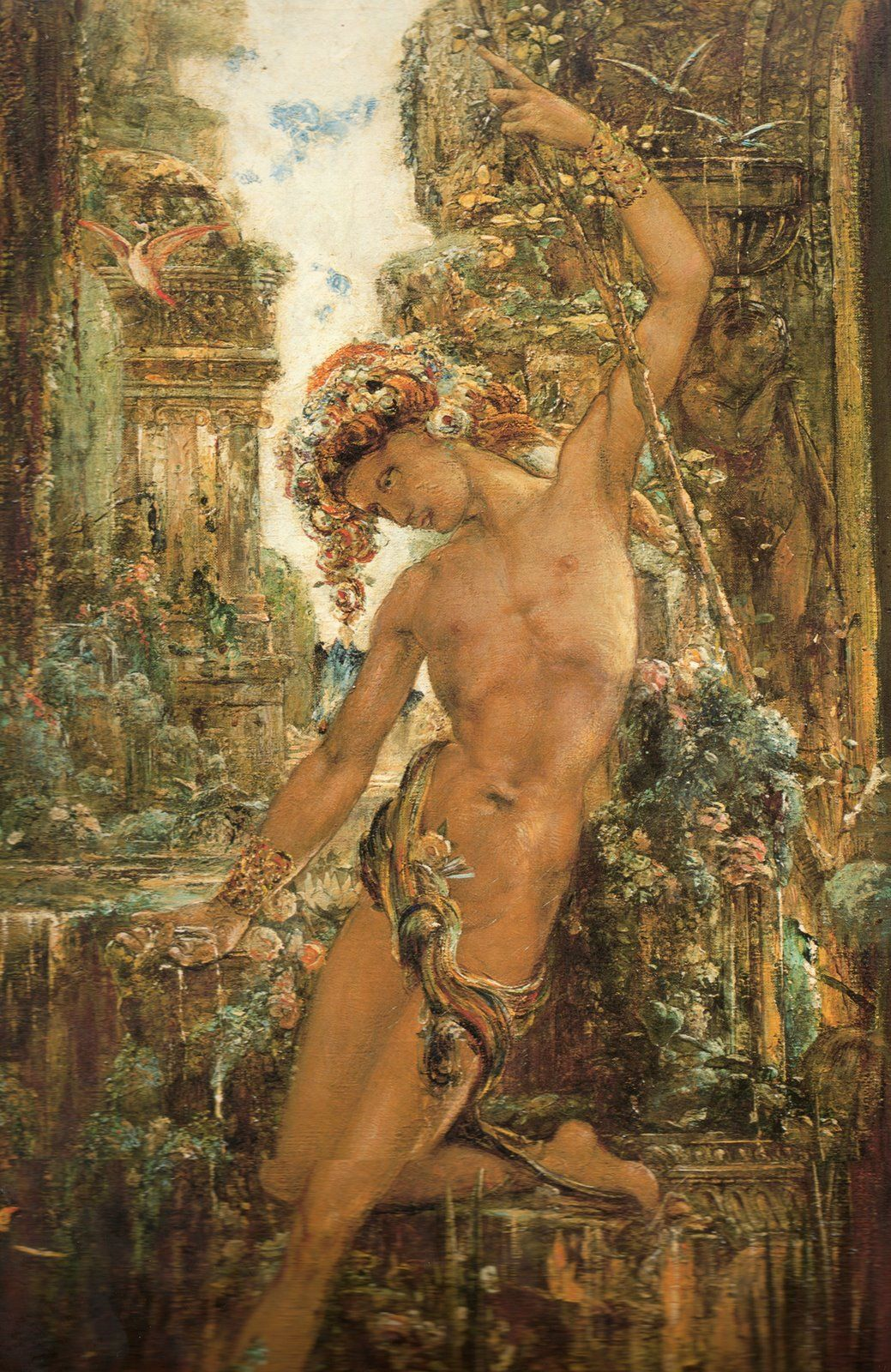 narcissus by gustave moreau circa art experience nyc  narcissus by gustave moreau circa 1890 art experience nyc artexperiencenyc com