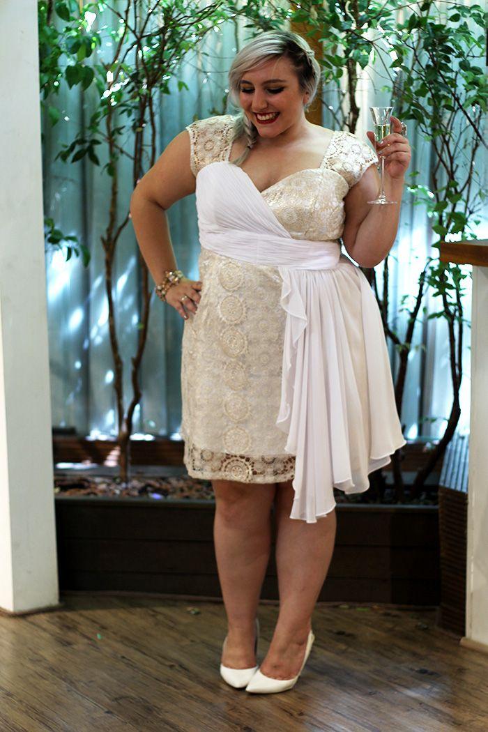 5075db696a6a Vestido de festa plus size para formaturas, casamentos e Ano Novo ...