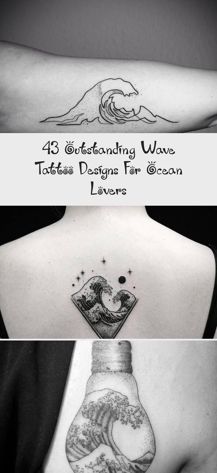 Photo of 43 Outstanding Wave Tattoo Designs For Ocean Lovers – Body Art Tattoo