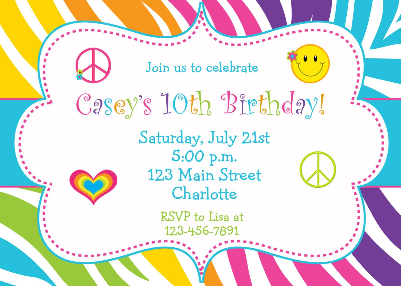 Print Birthday Invitations at Home Create birthday