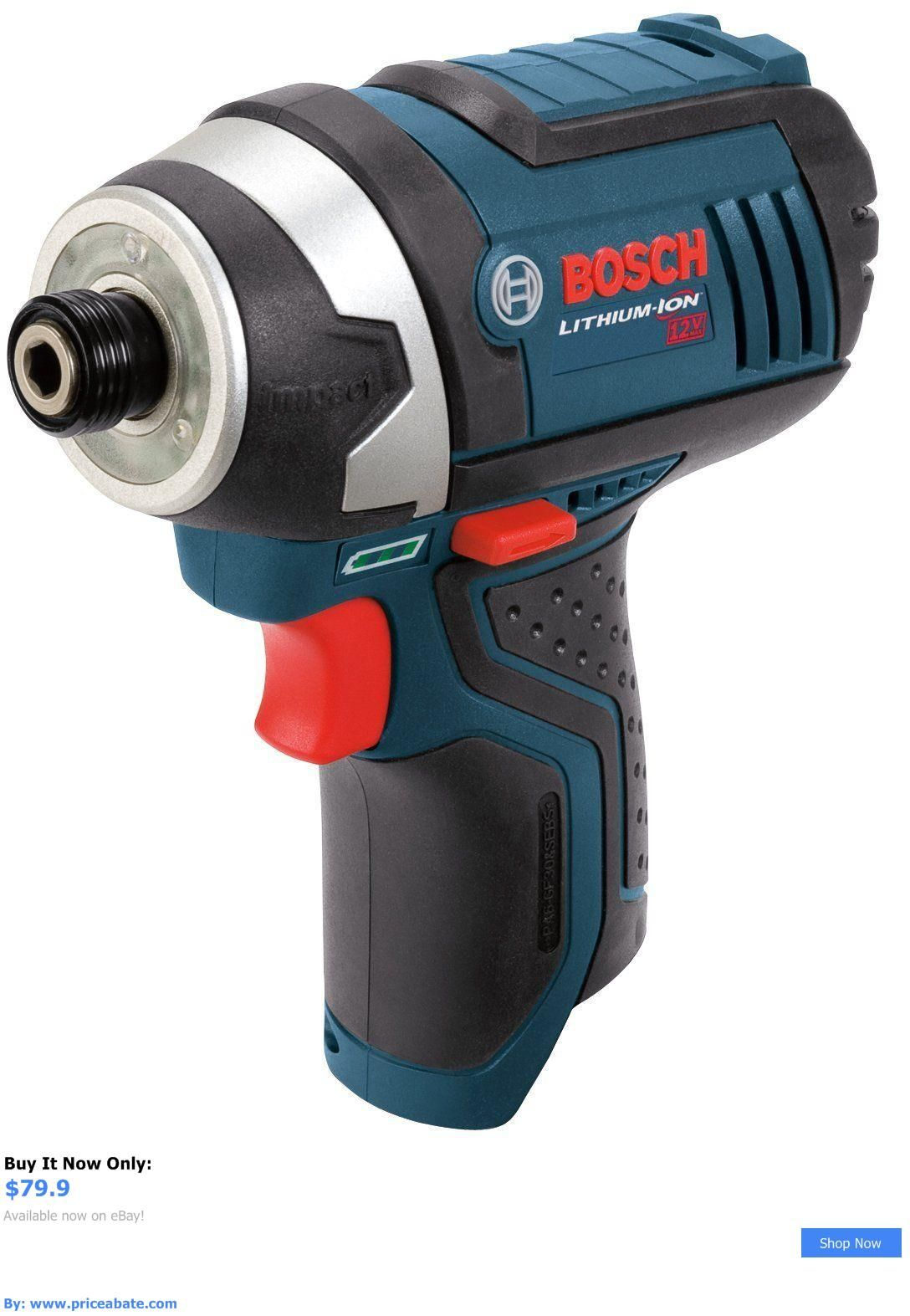Tools Bosch Ps41b 12v 12 Volt Cordless Lithium Ion Impact Driver Drill New Tool Buy It Now Only 79 9 Priceabatetoo Impact Driver Impact Drivers Driver Tool