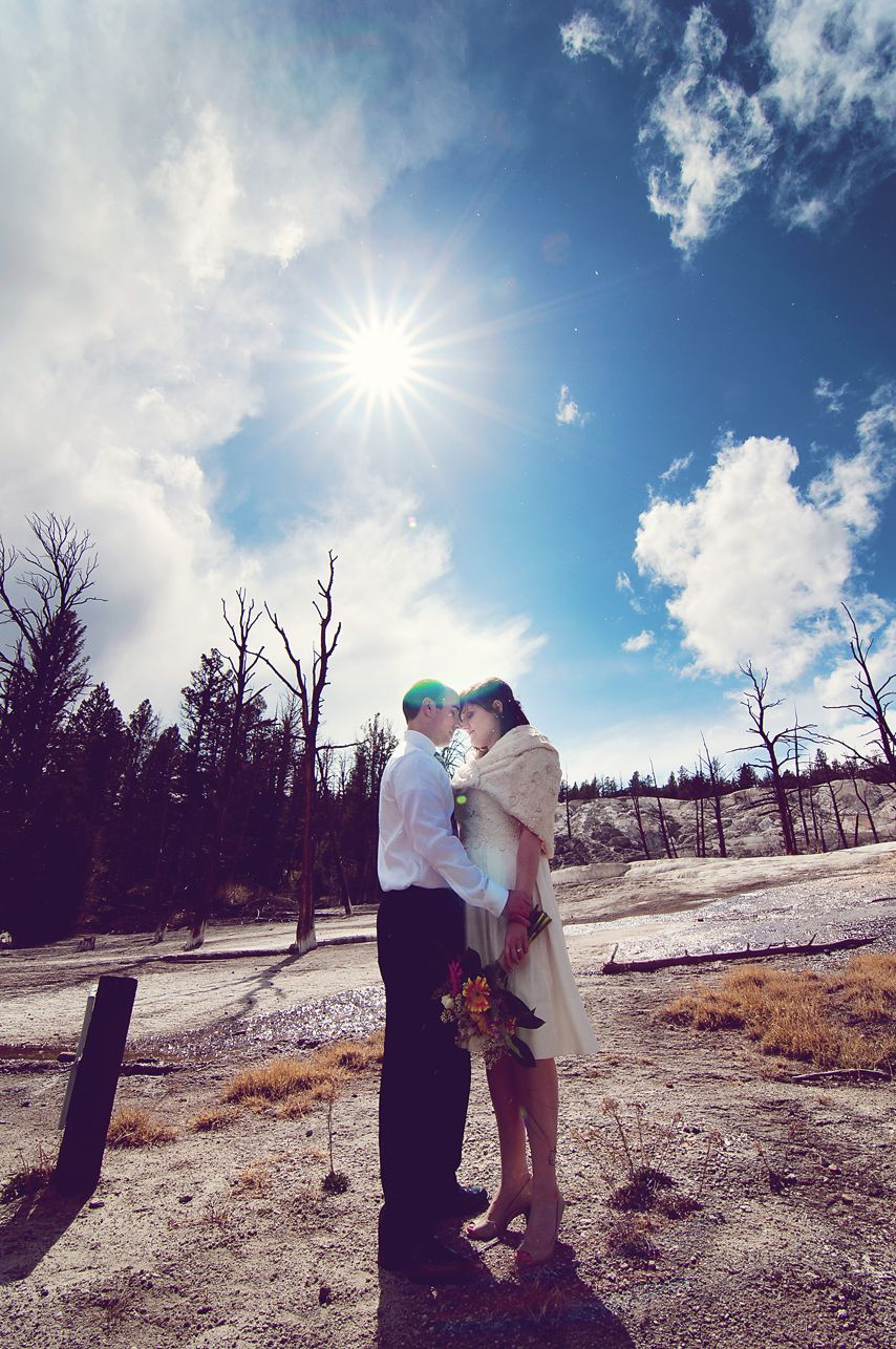 Yellowstone Park Wedding Montana Wedding Photographer Park Weddings Bozeman Montana Wedding