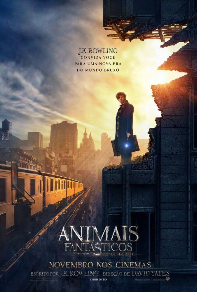 Trailer E Posteres Do Filme Animais Fantasticos E Onde Habitam