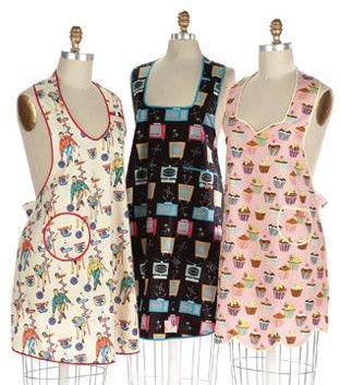 I love the use of bias tape in Indygo Junction's Lucy & June Apron pattern (11.99)