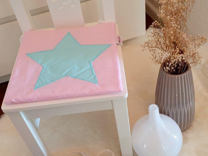 Kinderstuhlkissen Rosa Blau Schwarz Gelb Mint Altrosa Weiss Grun Rot Grau Lila Pink Turkis Beige Haushaltswaren Altrosa Und Innendekoration