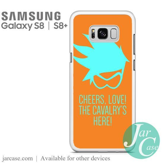 Overwatch Tracer Quotes Phone Case for Samsung Galaxy S8 & S8 Plus