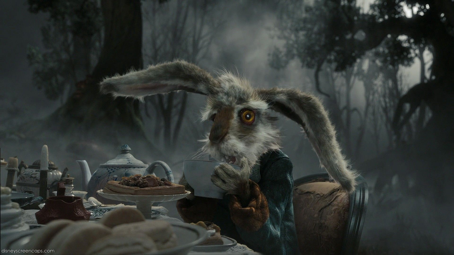 The Mad March Hare From Tim Burtons Alice In Wonderland Is A Very