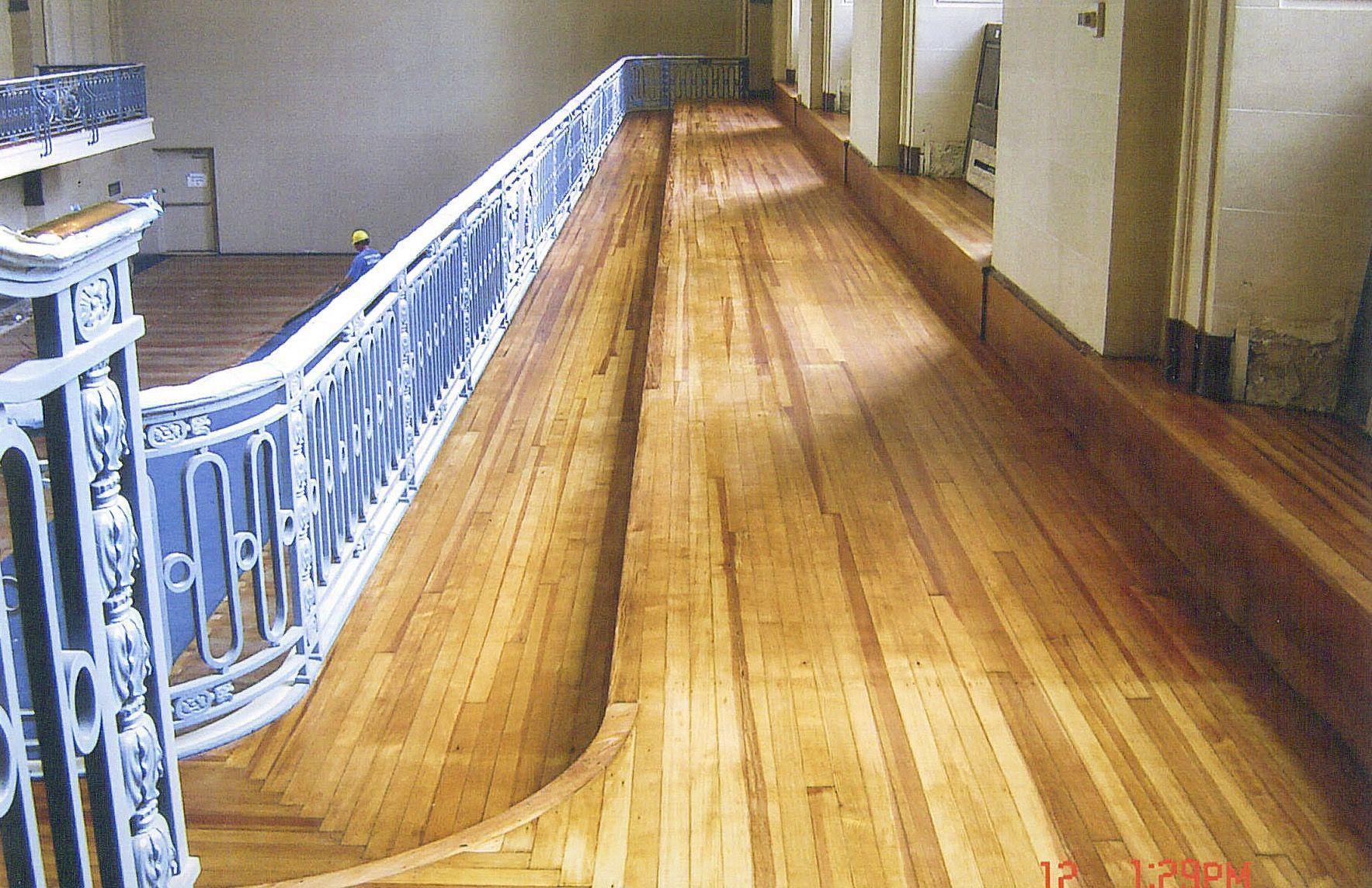 Historic hardwood floor restoration Flooring contractor