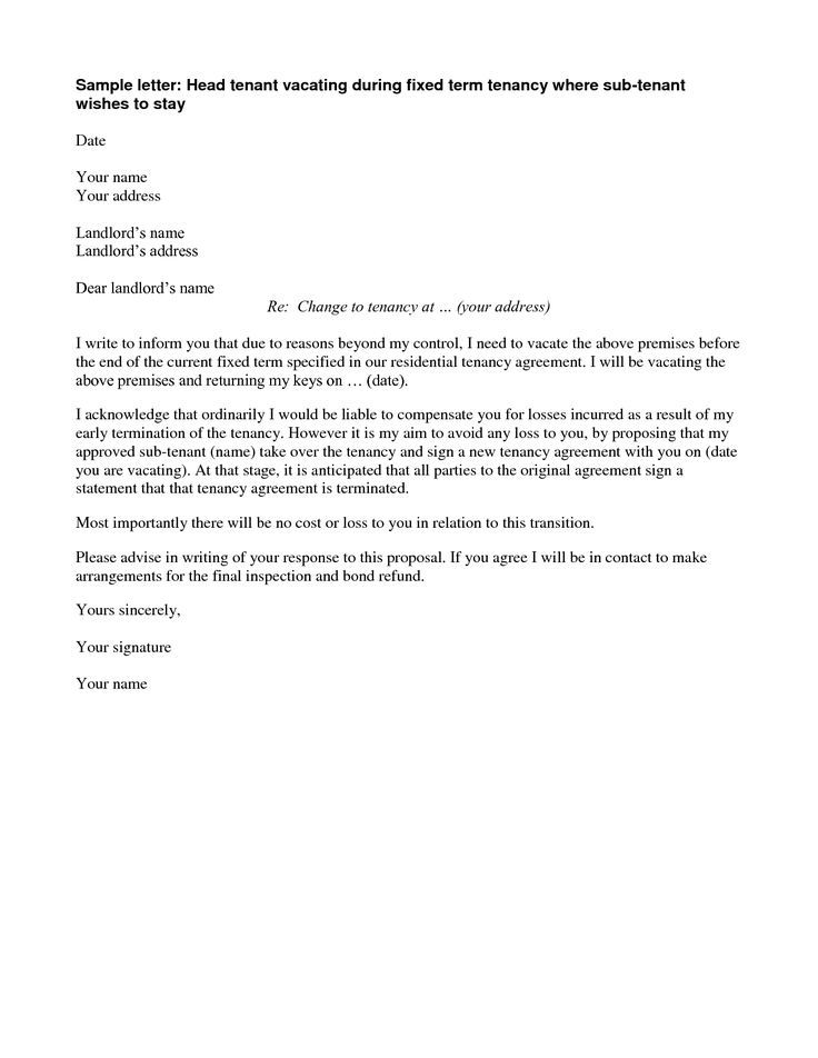 Agreement Termination Letter This Contract Template Free Sample