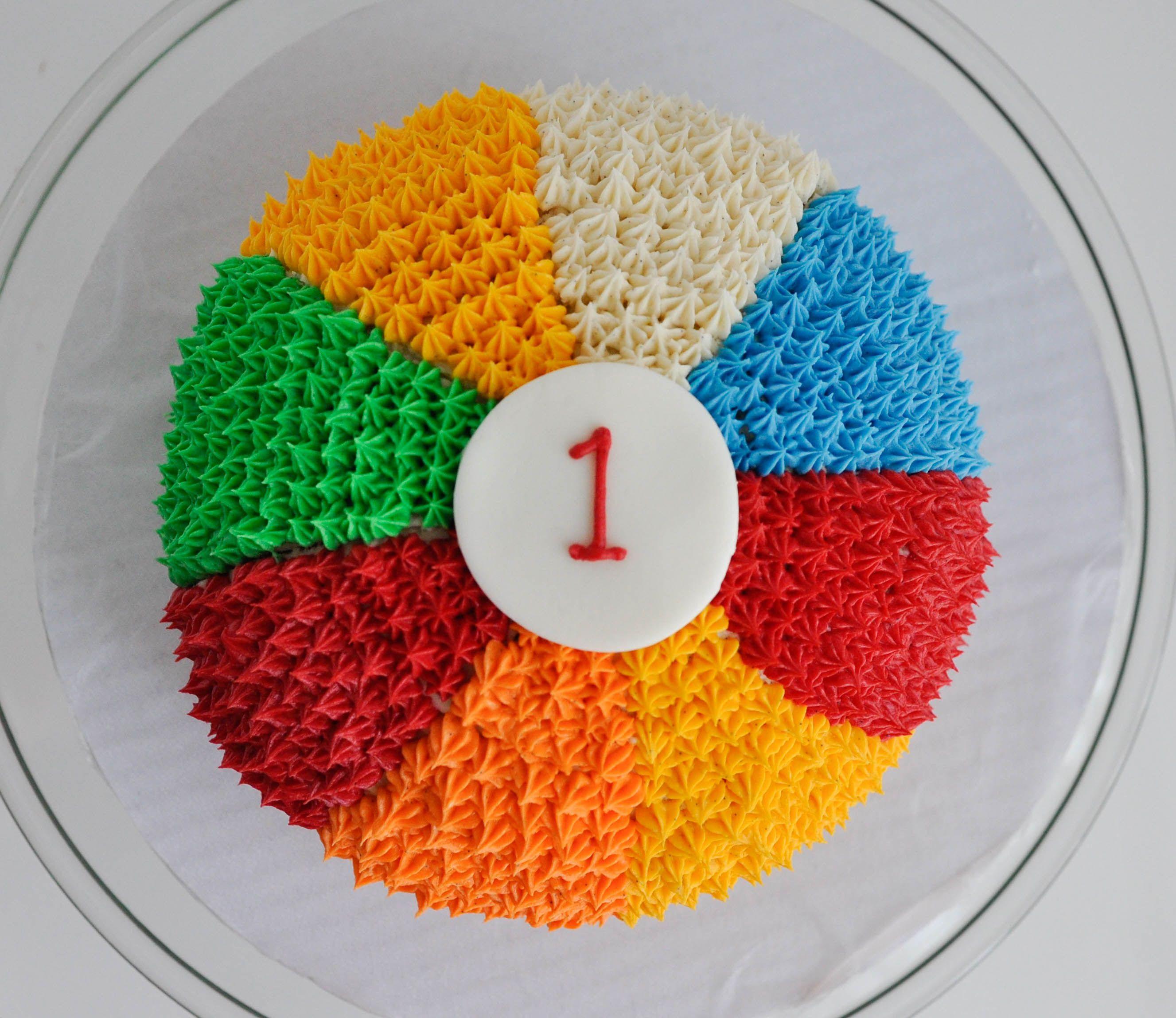 Beach Ball Smash Cake! | Baby Shower Cakes / Baby Cakes ...