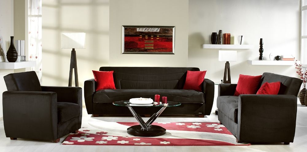 Charcoal Red Black And Cream Sofa Google Search Living Room