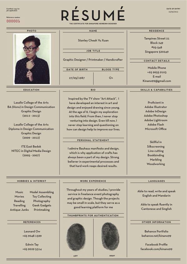 Awesome Resume Design More