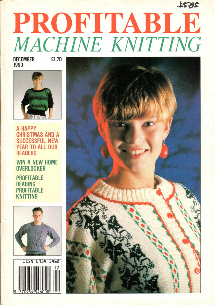 Profitable Machine Knitting Magazine 199012 Free Pdf Download