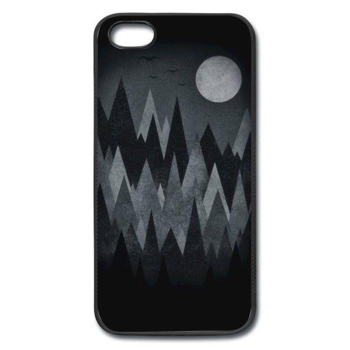 Gruselwald Illustration (Kunst/Dreieck) Handy Case iPhone Case | Spreadshirt http://ift.tt/2a8aThK - http://ift.tt/1Ogt3bY #art #design