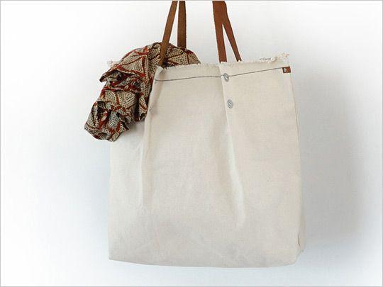 Carga Summer Canvas Tote Bag Highsiety
