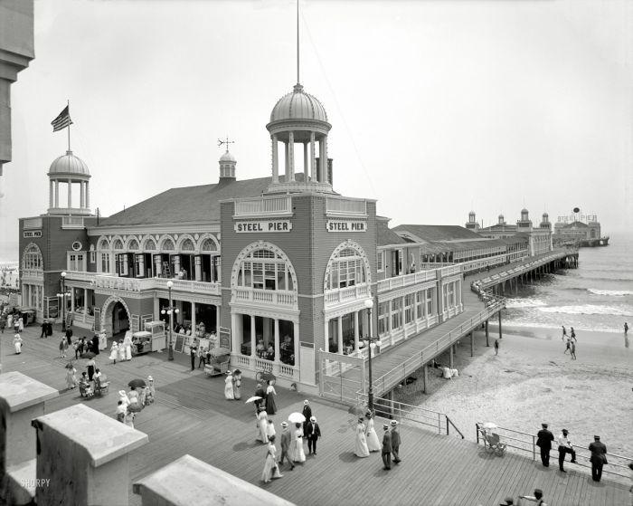 The Steel Pier, The Boardwalk, Atlantic City, New Jersey