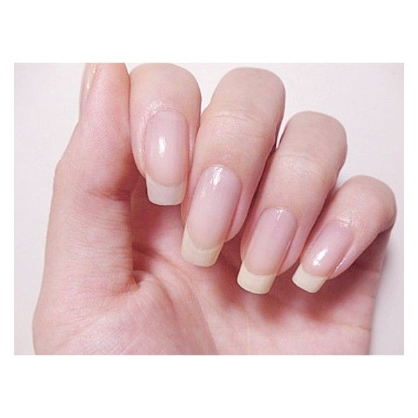 Long Natural Nails ❤ liked on Polyvore featuring beauty products ...