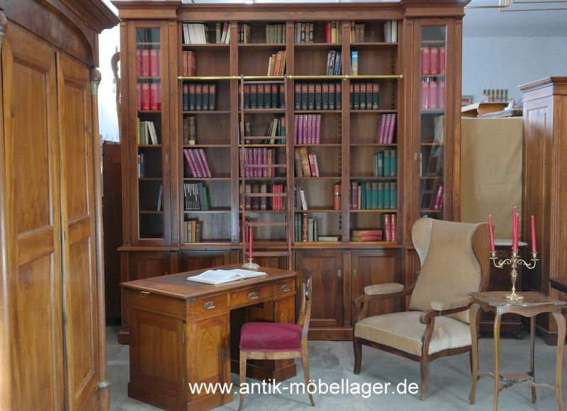 antik m bellager regal b cherregal nussholz antik neuanfertigung berlin m bel ma anfertigung. Black Bedroom Furniture Sets. Home Design Ideas