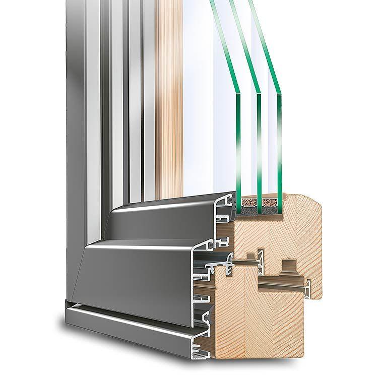 Balkontür Holz-Alu Idealu Classicline | Pinterest | Holz alu fenster ...