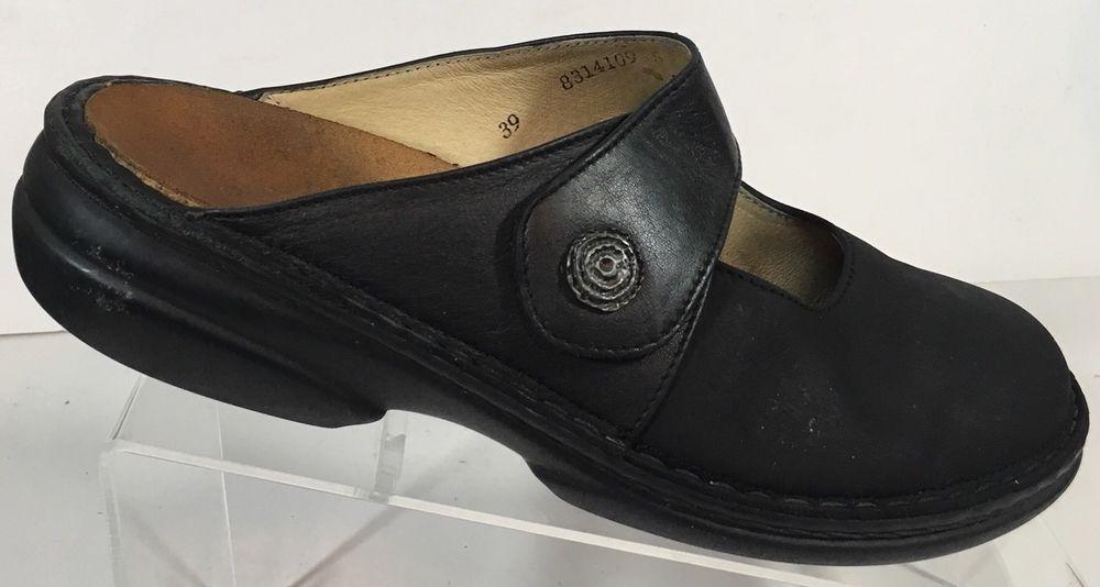c01eb5186ba5 Finn Comfort Sandals black slip on clog  FinnComfort  Causal  Casual