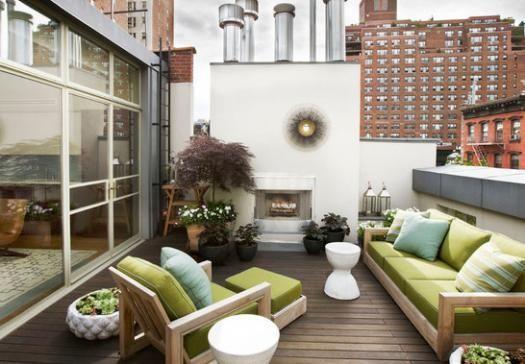 C mo decorar balcones y terrazas peque as balcones - Decorar terrazas pequenas ...