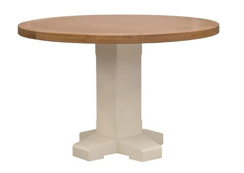 Chaumont Round Table Pedestal 120cm Ideal Furniture Dining Table Table Chaumont