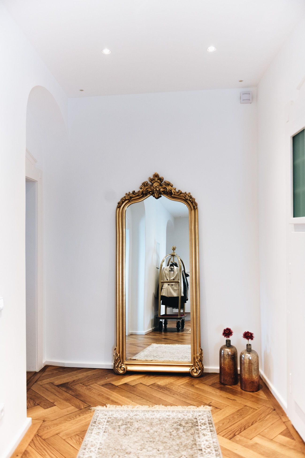 Attraktiv More On Www.fashiioncarpet.com Goldener Spiegel, Antiker Barock Spiegel,  Flur Einrichtung