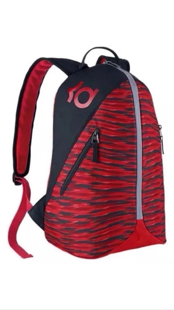 94d5de635025 Nike Ya KD Max Air VIII Red Black Backpack Kevin Durant  65 Brand New