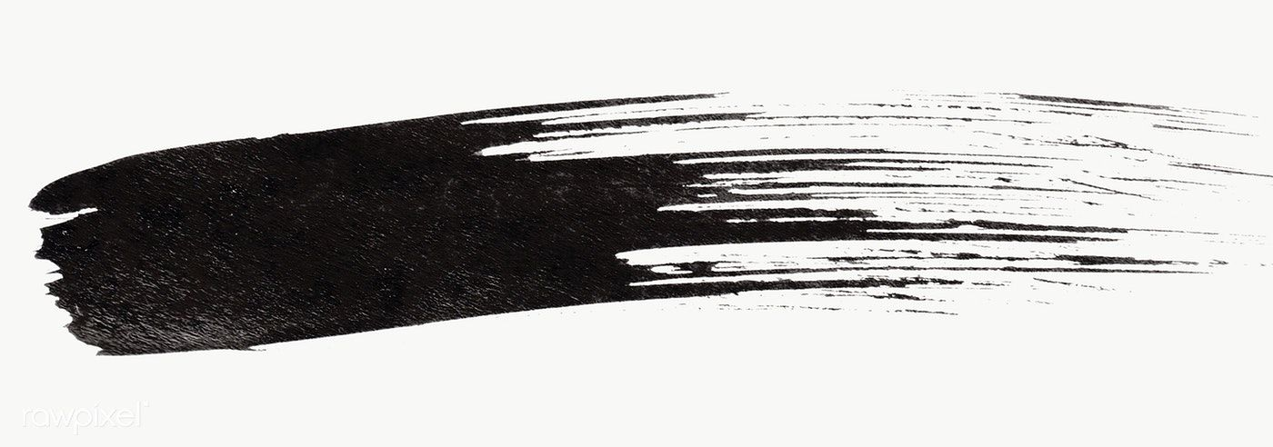 Abstract Black Brush Stroke Transparent Png Free Image By Rawpixel Com Nunny Paint Strokes Brush Strokes Painting Brush Stroke Png