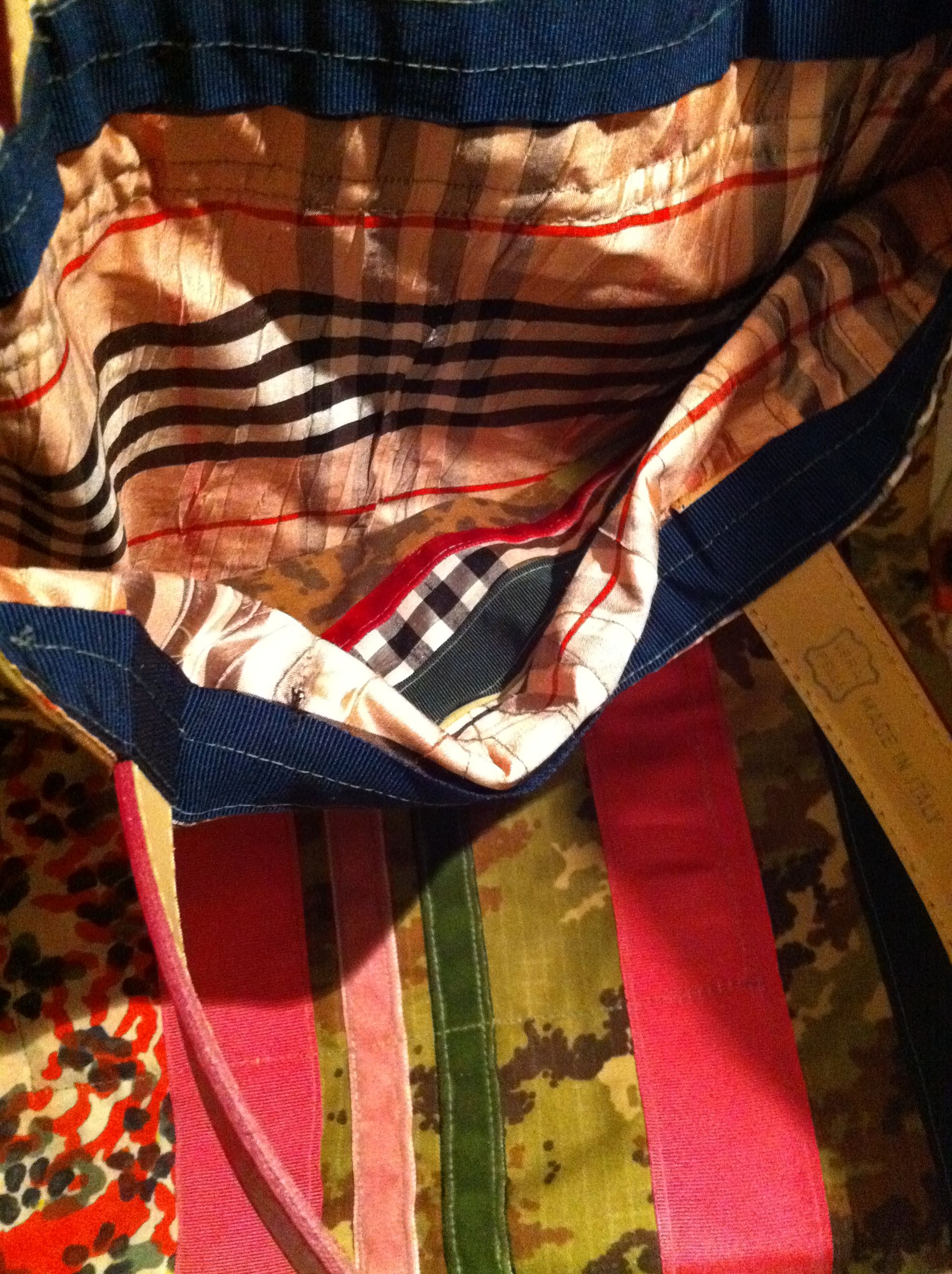 SurvivalBAG by Cassandra Wainhouse upcycled tote
