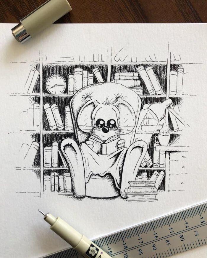 ▷ 1001 + idées de dessin dautomne que vous pouvez créer vous mêmes