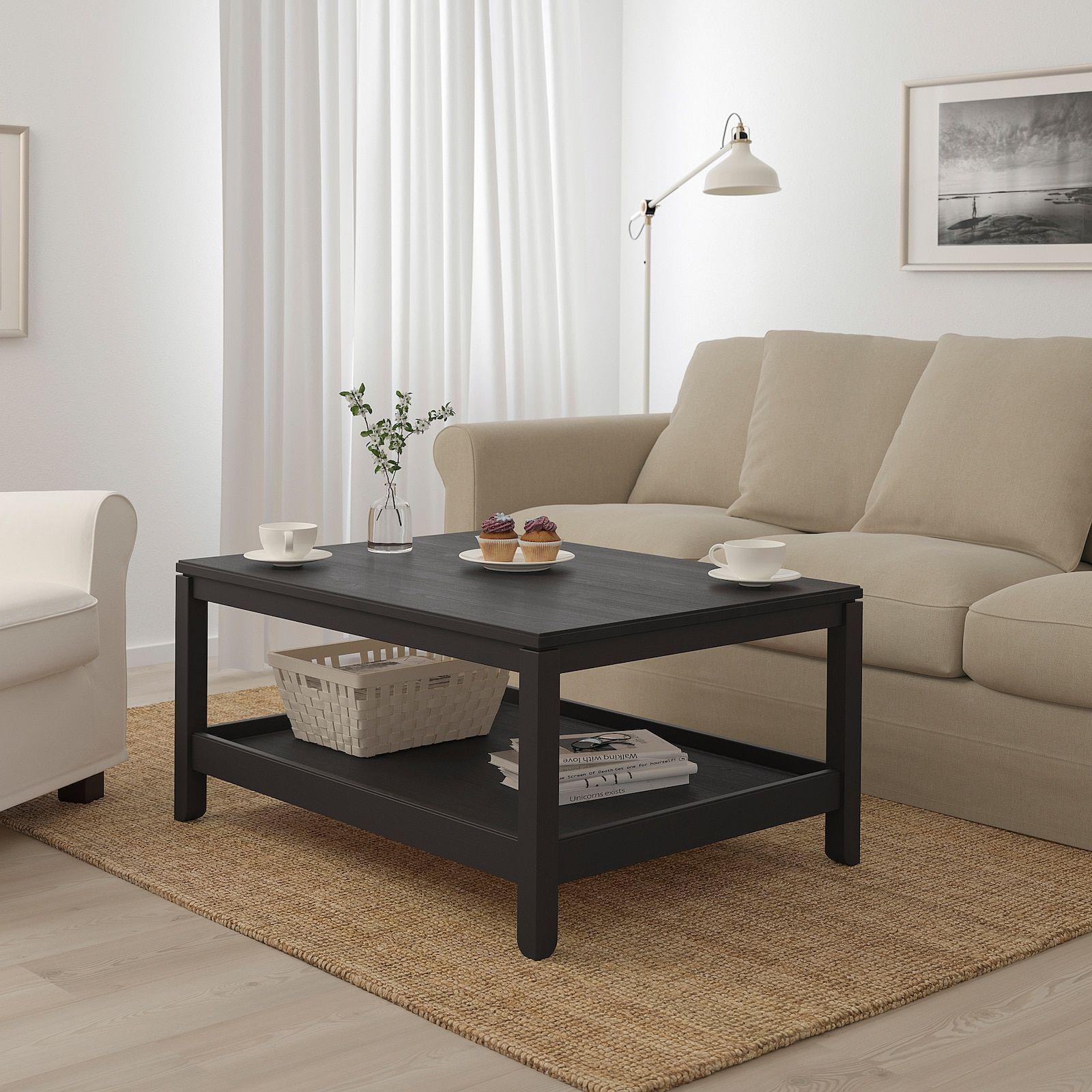 Havsta Coffee Table Dark Brown 100x75 Cm Ikea Coastal Living Room Coffee Table Furniture [ 1600 x 1600 Pixel ]