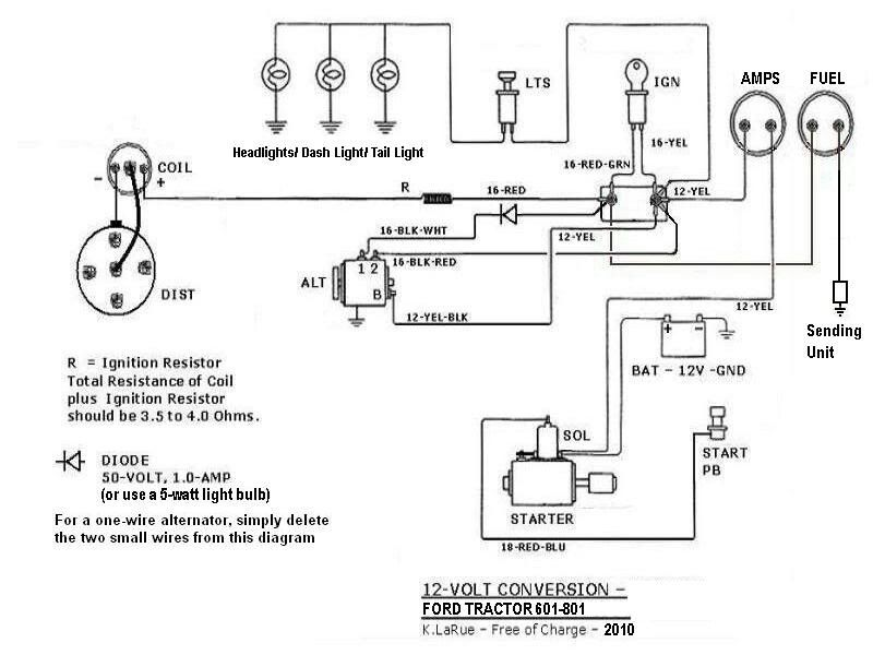 Tractor wiring | DIY | Ford tractors, Tractors, Ford