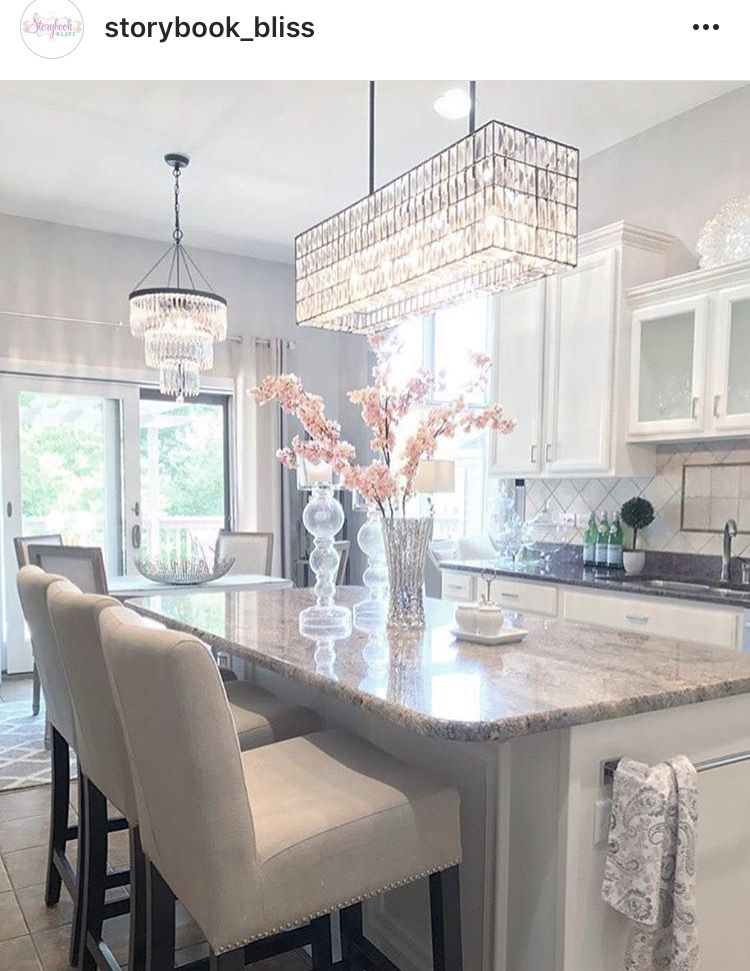 I Would Love These Light Fixtures In My Office 3  Home  Sweet Glamorous Light Fixtures For Kitchen Inspiration