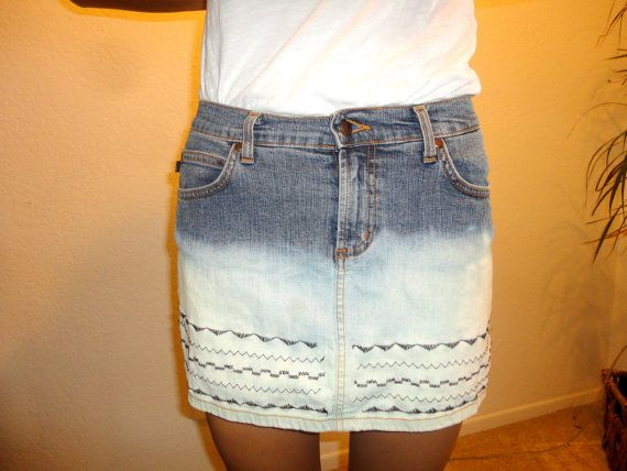 Mini Skirt  Aztec  size 0 by CasualD on Etsy, $19.00