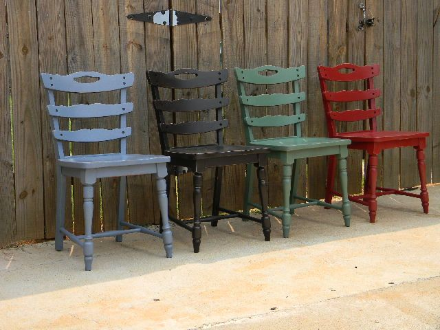 multi colored painted furniture. Multi Colored Chairs # Painted Furniture