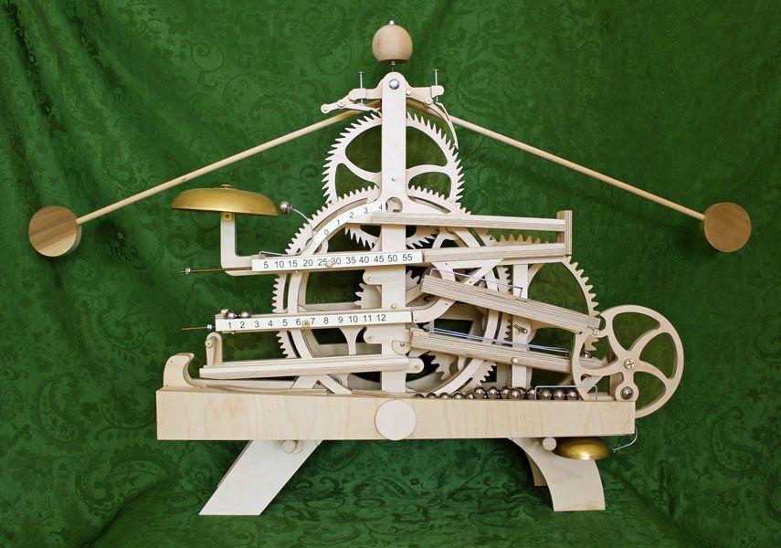 Wooden Gear Clock Plans By Clayton Boyer Wooden Gear Clock Wooden Clock Plans Wooden Gears