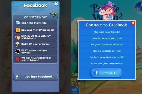 תוצאת תמונה עבור mobile game facebook login | Connect