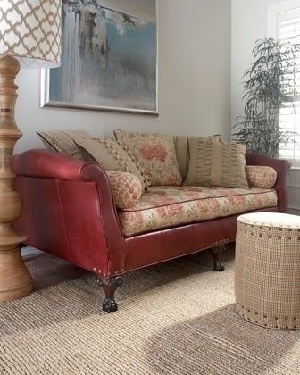 Jeff Zimmerman Collection By Key City Theodora Sofa   Traditional   Sofas    Horchow