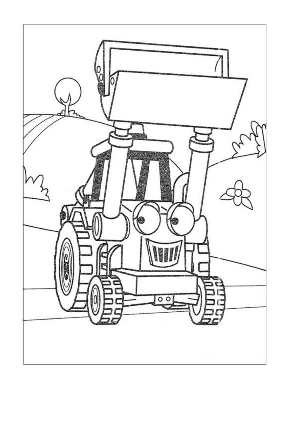 Dibujos para Colorear Bob el constructor 39 | Chellye | Pinterest ...