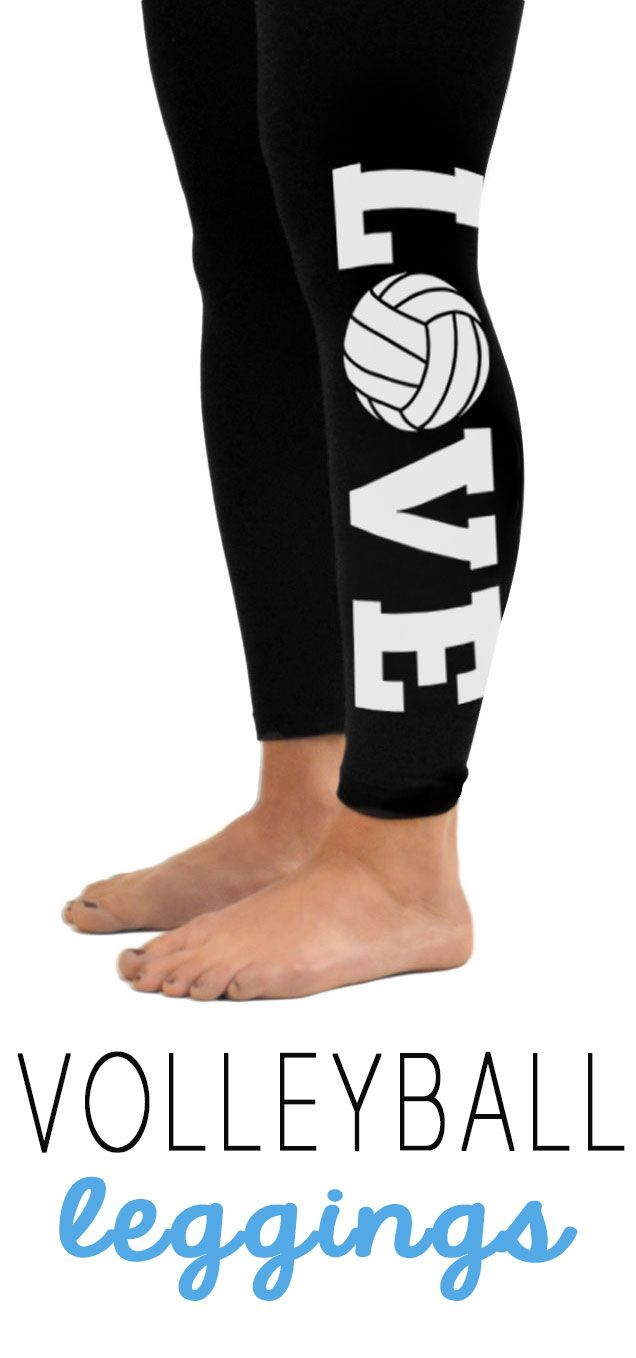 Do You Love Volleyball Then You Will Love Our Volleyball Leggings Our Leggings Are Crazy Popular Volleyball Leggings Volleyball Outfits Volleyball