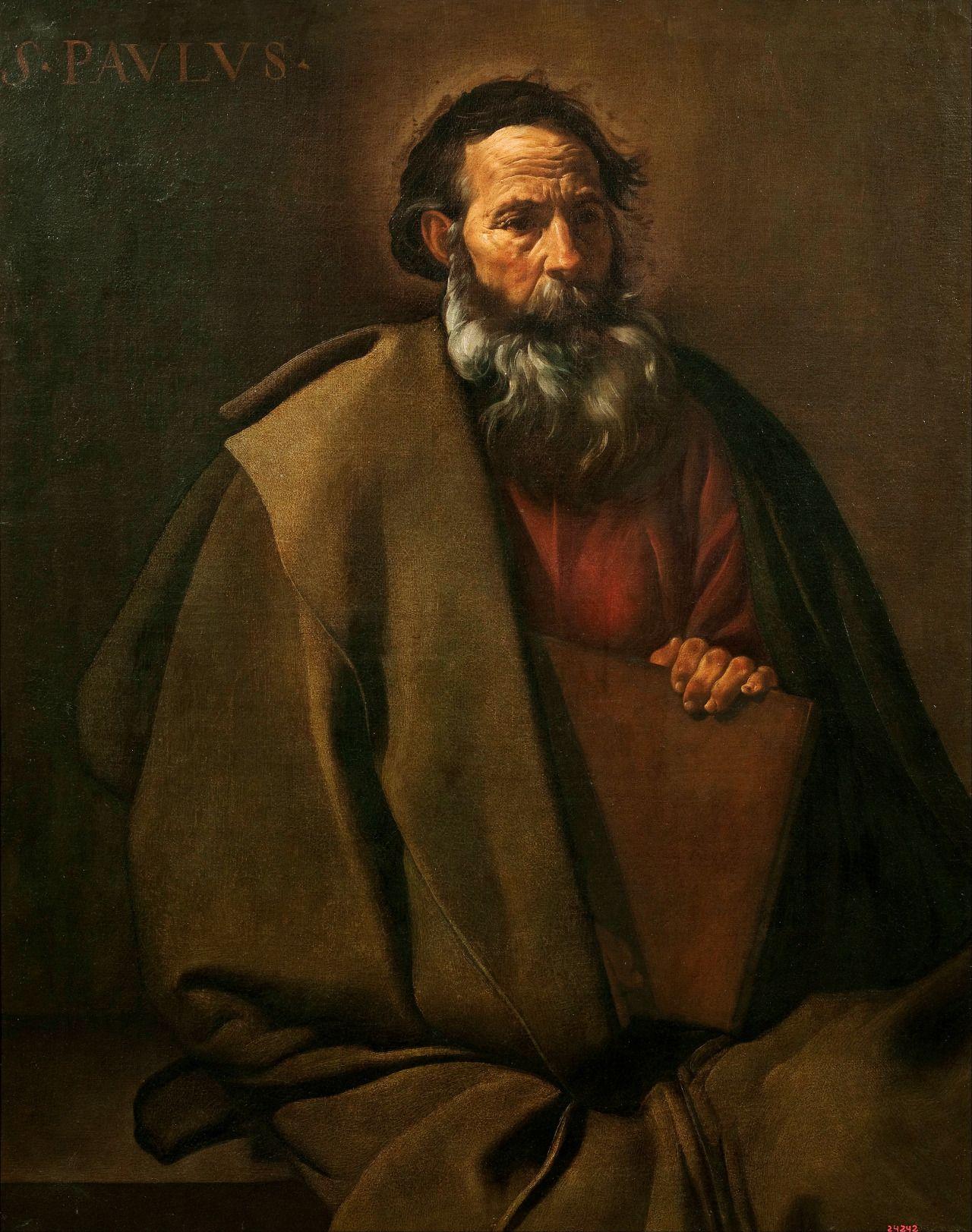 Diego Velázquez  Saint Paul, c. 1619