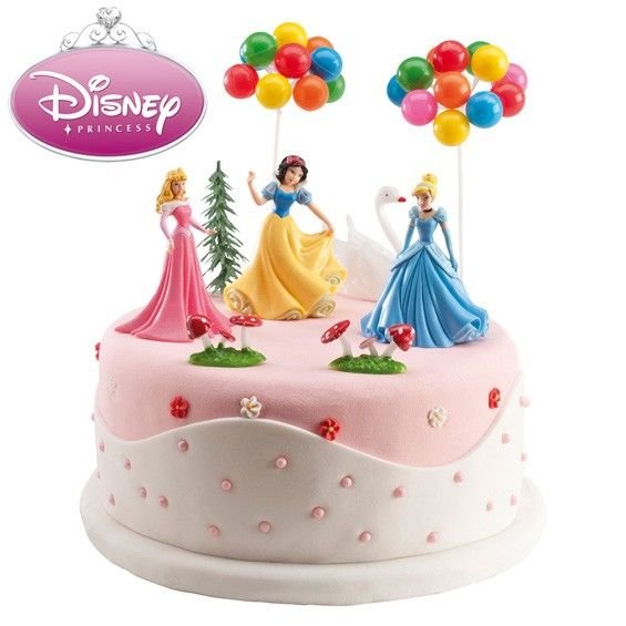 Disney Cake Decorations Princess : This Disney princess cake decorating kit is perfect on any ...