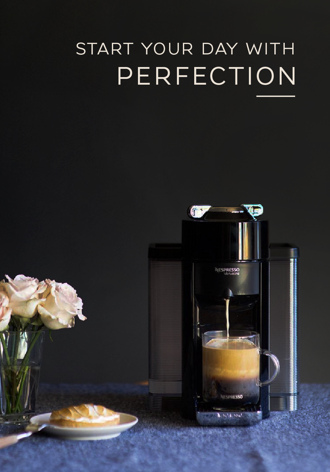 The VertuoLine System from Nespresso produces