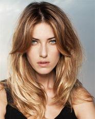 Długa Grzywka Szukaj W Google Włosy Fryzury Fryzura I