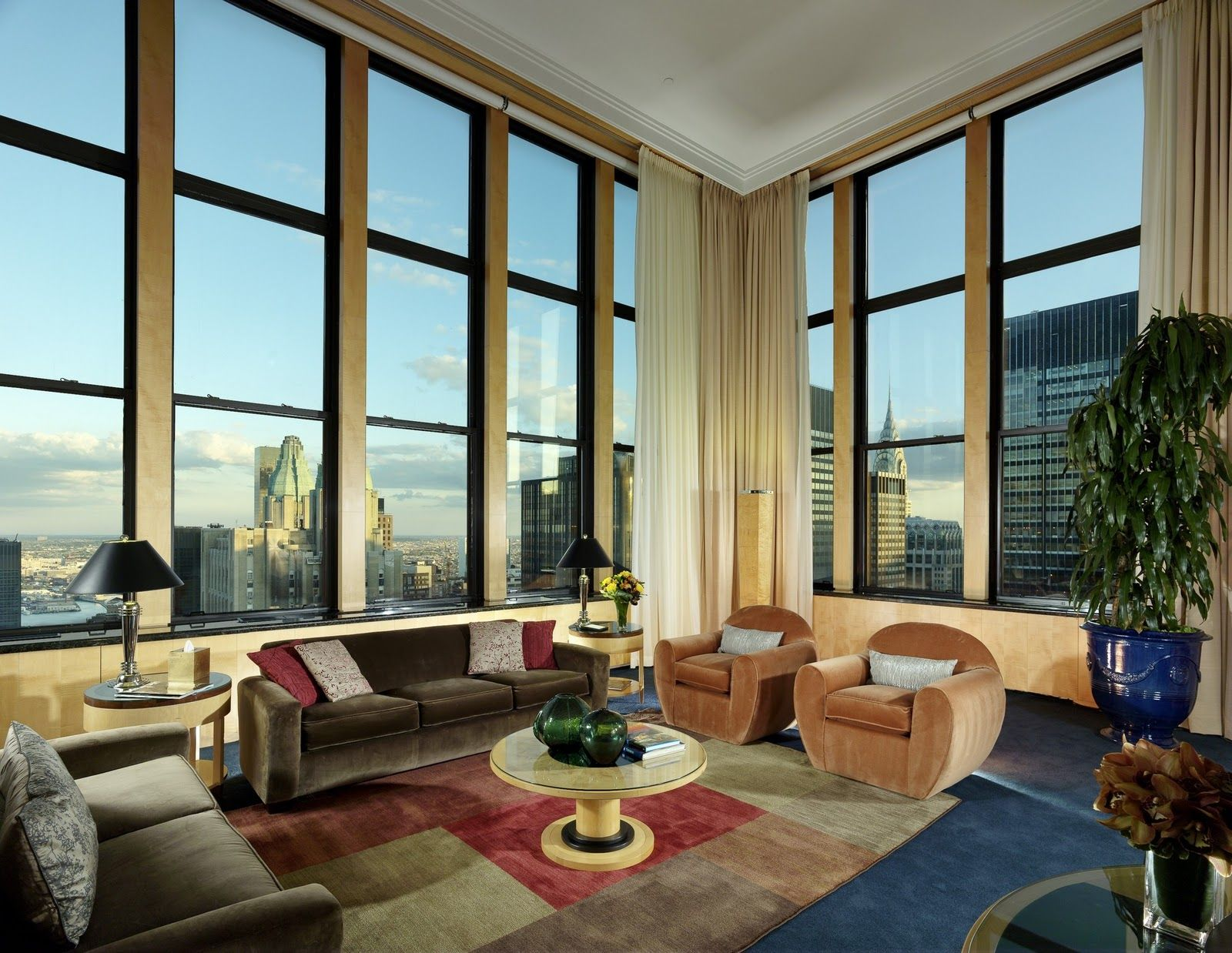 the palace hotel triplex penthouse oyster.com | The New York Palace: Fit for