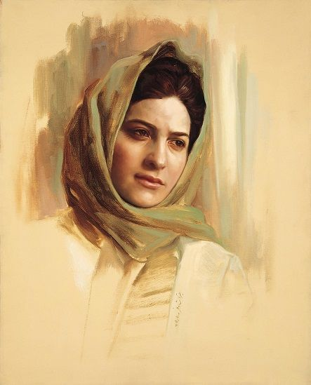 Pin By Mona Aboulfetouh On Painting Portrait Portrait Painting