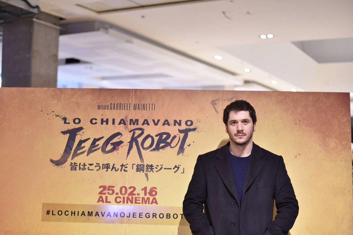 Il regista Gabriele Mainetti